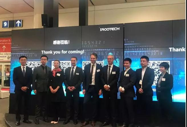Kaiwei and iRootech: join hands to enter global market, link equipment and technology to create true value!